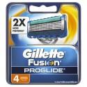 Gillette Fusion Proglide Skutimosi peiliukai 4 vnt.