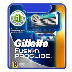 Gillette Fusion Proglide Skutimosi peiliukai 8 vnt.