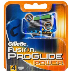 Gillette Fusion Proglide POWER skutimosi peiliukai 4 vnt