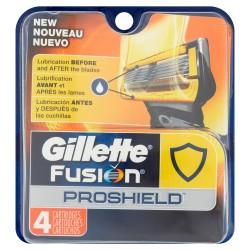 Gillette Fusion ProShield skutimosi peiliukai 4 vnt
