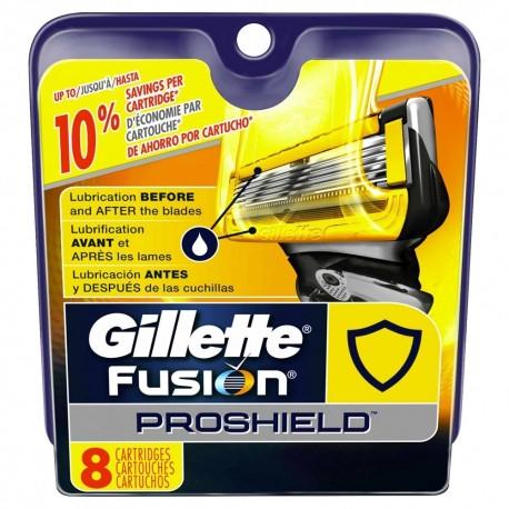 Gillette Fusion ProShield skutimosi peiliukai 8 vnt