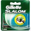 Gillette Slalom Plius skutimosi peiliukai 5 vnt
