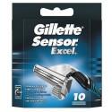 Gillette Sensor Excel skutimosi peiliukai 10 vnt