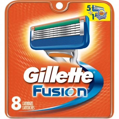 Gillette Fusion skutimosi peiliukai 8 vnt