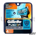 Gillette Fusion ProShield Chill skutimosi peiliukai 4 vnt